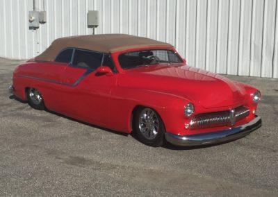 1949-Mercedes-LettFlowmaster-Mufflerscar-paint