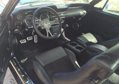 1968-Ford-MustangKenne-Bell-Superchargerantique-auto-restoration
