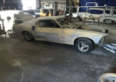 1969-Ford-MustangAmerican-Autowire-HarnessAuto-Restoration-Shops