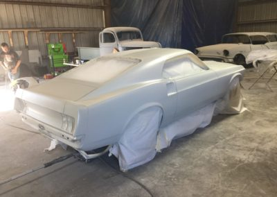 1969-Ford-MustangAmerican-Autowire-Harnessautomotive-restoration