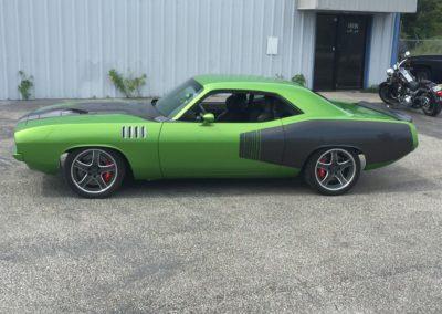 1971-Plymouth-Hemi-CudaACR-Dodge-Viper-ChassisAuto-Restoration-Shops