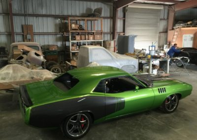1971-Plymouth-Hemi-CudaACR-Dodge-Viper-ChassisCar-Restoration