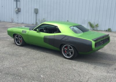 1971-Plymouth-Hemi-CudaAmerican-Autowire-HarnessClassic-Car-Restoration
