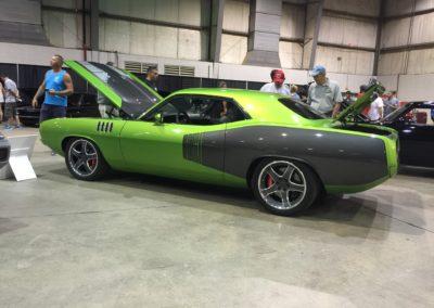 1971-Plymouth-Hemi-CudaAmerican-Autowire-Harnessantique-car-restoration