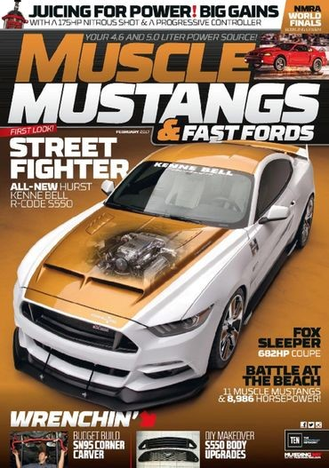 2017-Hurst-Ford-MustangKenne-Bell-Supercharger-systemvehicle-restoration