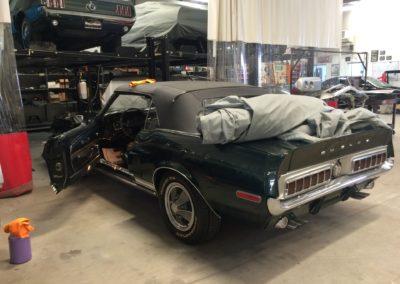 Shelby-GT350-Convertiblecar-interior-restoration